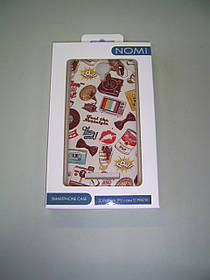 Чехол Nomi i5010 (ip3469) Silicon TPU-cover 3D Pattern