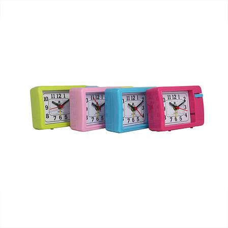 Настольные часы-будильник кварцевые XD-136, фото 2
