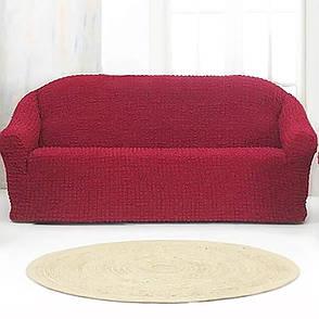 Накидка для дивана Grand 170*230 Бордовая, фото 2