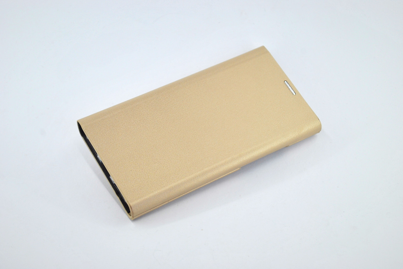 Чехол-книжка Flip Cover for Huawei Y7 (2018) Miami Mary Slim Shell Gold
