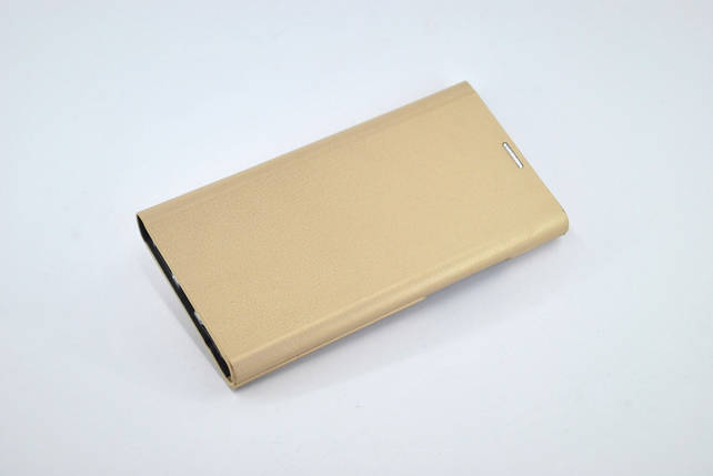 Чехол-книжка Flip Cover for Huawei Y7 (2018) Miami Mary Slim Shell Gold, фото 2