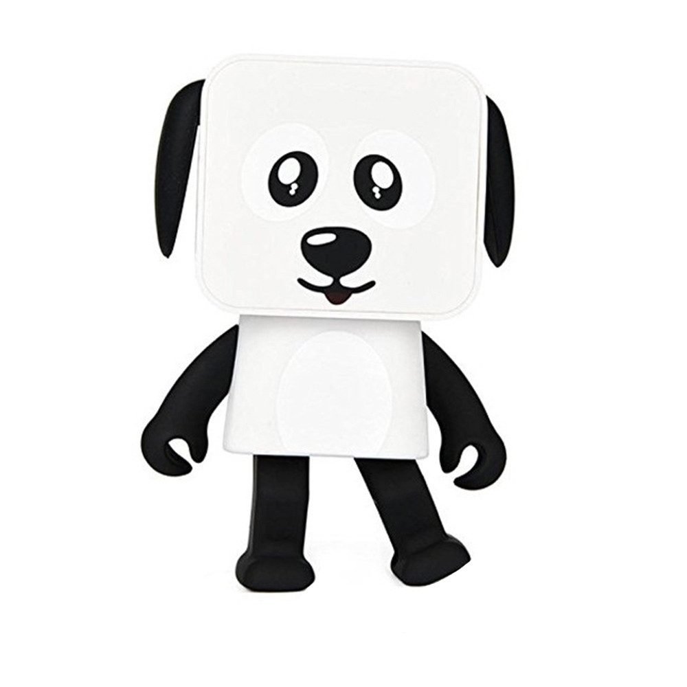 Портаивная bluetooth колонка в виде танцующей собаки