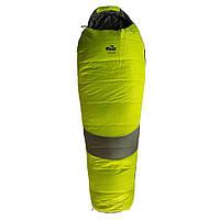 Спальный мешок Tramp Voyager Regular правый оливковый/серый, фото 1