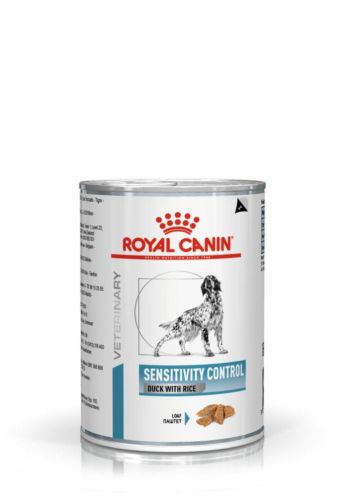 Royal Canin SENSITIVITY CONTROL DUCK DOG Cans 0,42кг