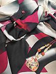 Платье женское  летнее штапель Бохо  батал черно- бордовое  Пл 187 штапель, фото 4