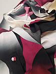Платье женское  летнее штапель Бохо  батал черно- бордовое  Пл 187 штапель, фото 3
