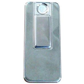Спиральная USB зажигалка  Lighter Серебро, фото 2