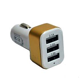 Адаптер в прикуриватель на 3 USB SMART MINI K9, фото 2
