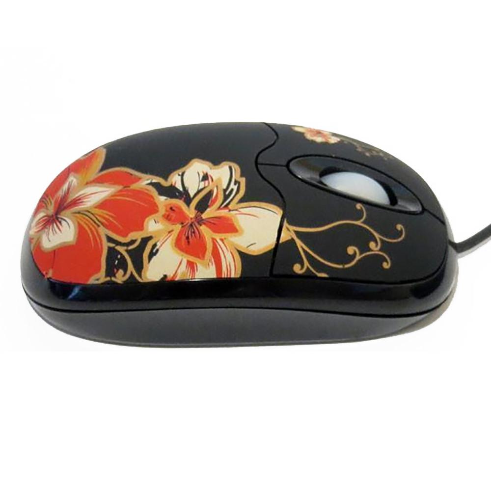 Компьютерная проводная мышка MA-MTA06K/В-178 цветок