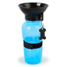 Портативная поилка для собак Dog Bottle 550 мл, фото 2