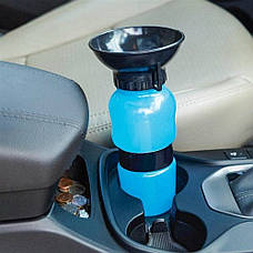 Портативная поилка для собак Dog Bottle 550 мл, фото 3