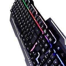 Геймерская клавиатура с подсвекой WB-539  + ПОДАРОК: Настенный Фонарик с регулятором BL-8772A, фото 2