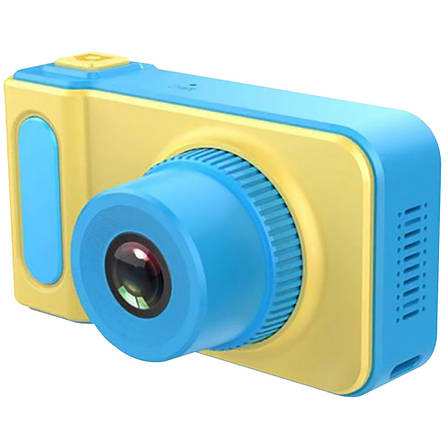 Детский цифровой фотоаппарат Smart Kids Camera V7----СИНИЙ, фото 2