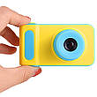 Детский цифровой фотоаппарат Smart Kids Camera V7----СИНИЙ, фото 4