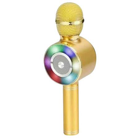 Беспроводной караоке-микрофон bluetooth WSTER WS-669 БЕЗ ВЫБОРА ЦВЕТА + ПОДАРОК: Настенный Фонарик с, фото 2