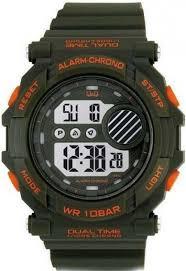 Мужские часы Q&Q M136J003Y + ПОДАРОК: Настенный Фонарик с регулятором BL-8772A