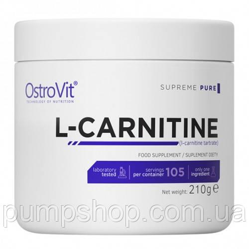 Л-карнитин OstroVit L-carnitine 210 г (уценка)
