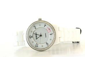 Женские часы Skmei Limeishi Керамика + ПОДАРОК: Настенный Фонарик с регулятором BL-8772A, фото 3
