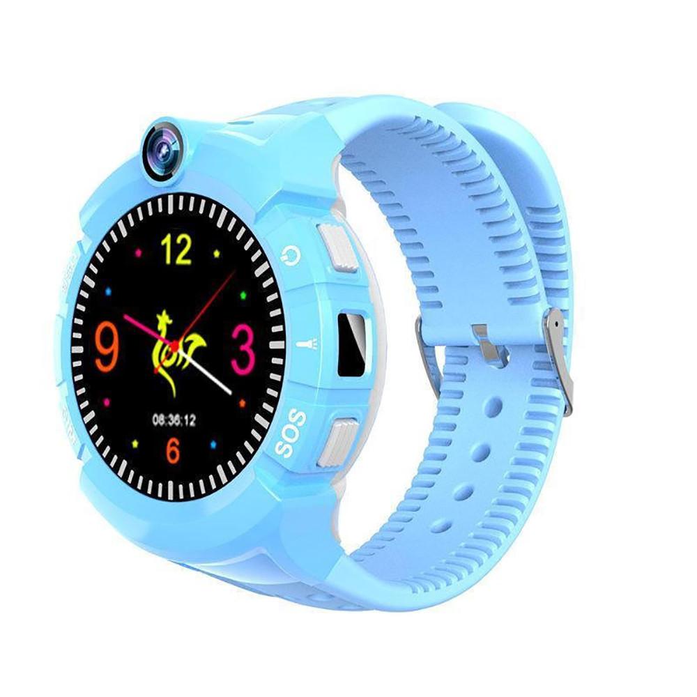 Детские часы С GPS трекером +CAMERA S02 DEEP  + ПОДАРОК: Настенный Фонарик с регулятором BL-8772A