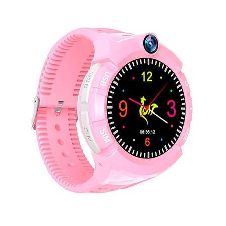 Детские часы С GPS трекером +CAMERA S02 DEEP  + ПОДАРОК: Настенный Фонарик с регулятором BL-8772A, фото 2