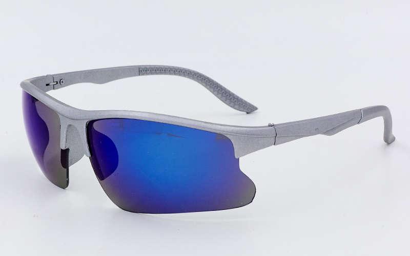 Очки спортивные солнцезащитные Zelart, пластик, акрил, серый (799)