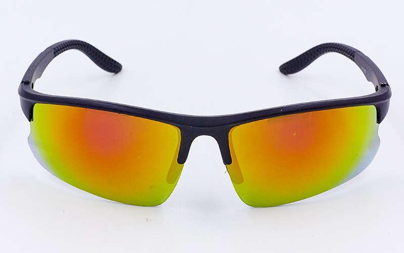 Очки спортивные солнцезащитные Zelart, пластик, акрил, черный (799)