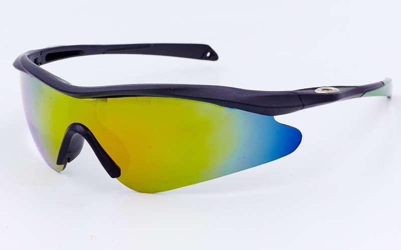 Очки спортивные солнцезащитные OAKLEY YL146 (салатовый)