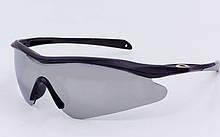 Очки спортивные солнцезащитные OAKLEY YL146 (серый)