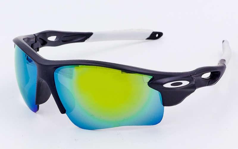 Очки спортивные солнцезащитные OAKLEY MS-2496 (белый)