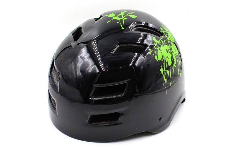 Шлем для экстремального спорта Zelart, ABS, р-р M-L-55-61, черный (MTV01)