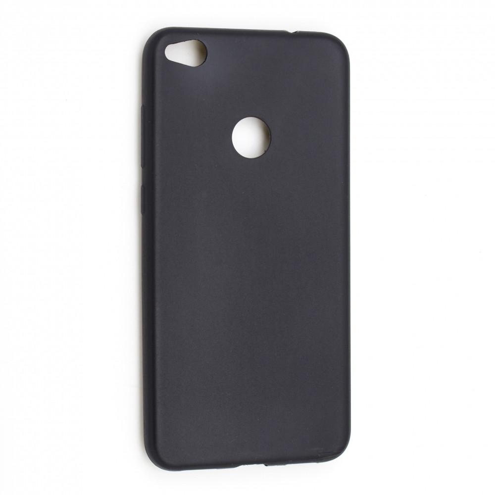 Чехол Huawei Y3 (2018) Silicon Joy (плотный) black