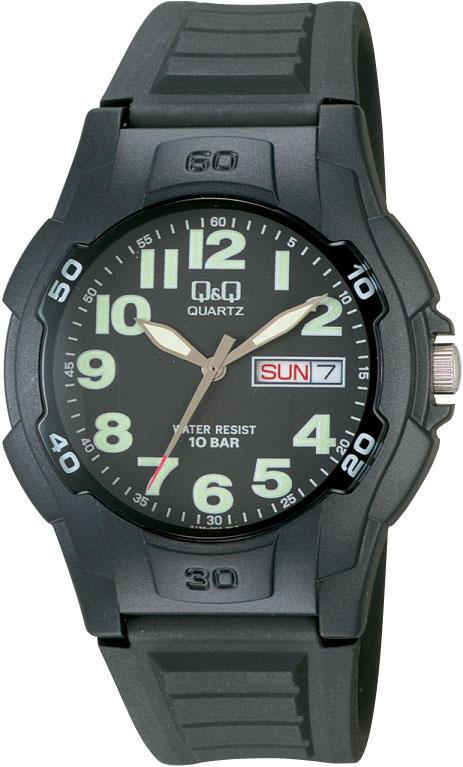 Мужские часы Q&Q A128J002Y + ПОДАРОК: Настенный Фонарик с регулятором BL-8772A