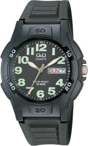 Мужские часы Q&Q A128J002Y + ПОДАРОК: Настенный Фонарик с регулятором BL-8772A, фото 2