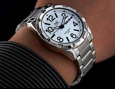 Мужские часы Q&Q A150J204Y + ПОДАРОК: Настенный Фонарик с регулятором BL-8772A, фото 2