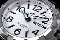 Мужские часы Q&Q A150J204Y + ПОДАРОК: Настенный Фонарик с регулятором BL-8772A, фото 3