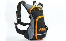 Моторюкзак с местом под питьевую систему KTM Racing, PL, р-р 40х18см, черный (MS-6342-K)