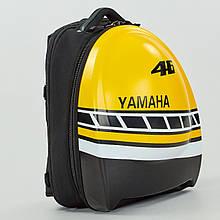 Моторюкзак карбон Carbon YAMAHA, PL, р-р 44х31х17см, черный (MS-0311-H)