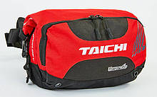 Мотосумка водонепроницаемая поясная TAICHI, PL, р-р 28х24х10см, красный (MS-6808)