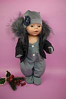 Одежда для Baby Born - Костюм зимний для девочки