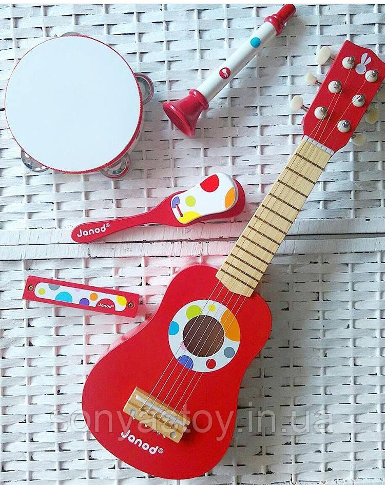 Набор музыкальных инструментов для детей, 2+