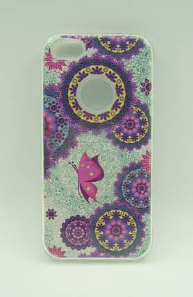 "Чехол iPhone 7 Silicon + Plastic Aspor Mask Collection ""Узор маленький"", фото 2"