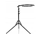 Професійна Кільцева лампа 45см M-45 RL-18 штатив+пульт+3 держателя Led кільце, фото 8