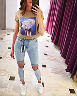 Штаны джинсы женские The bark рр 25,26,27,28,29,30