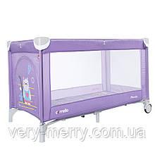 Детский манеж Carrello Piccolo CRL-9203 (фиолетовый цвет)