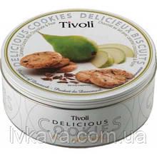 Печенье Tivoli Delicious с карамельными кранчами и грушей  , 150 гр , ж\б