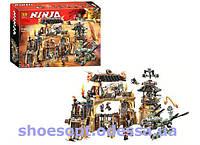 Конструктор Ninja Ниндзя Пещера драконов: 1723 деталей, 8 фигурок, фото 1