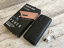 Power Bank 50000 mah c экраном 3 USB + фонарик Тонкий,УМБ,павер банк