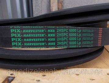 Ремень 2УВ-6000 (Дон-1500, Дон-1200) двухручейный 2SPC-6000