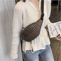 Женская поясная сумка (сумка бананка), 32*7*11см, фото 3