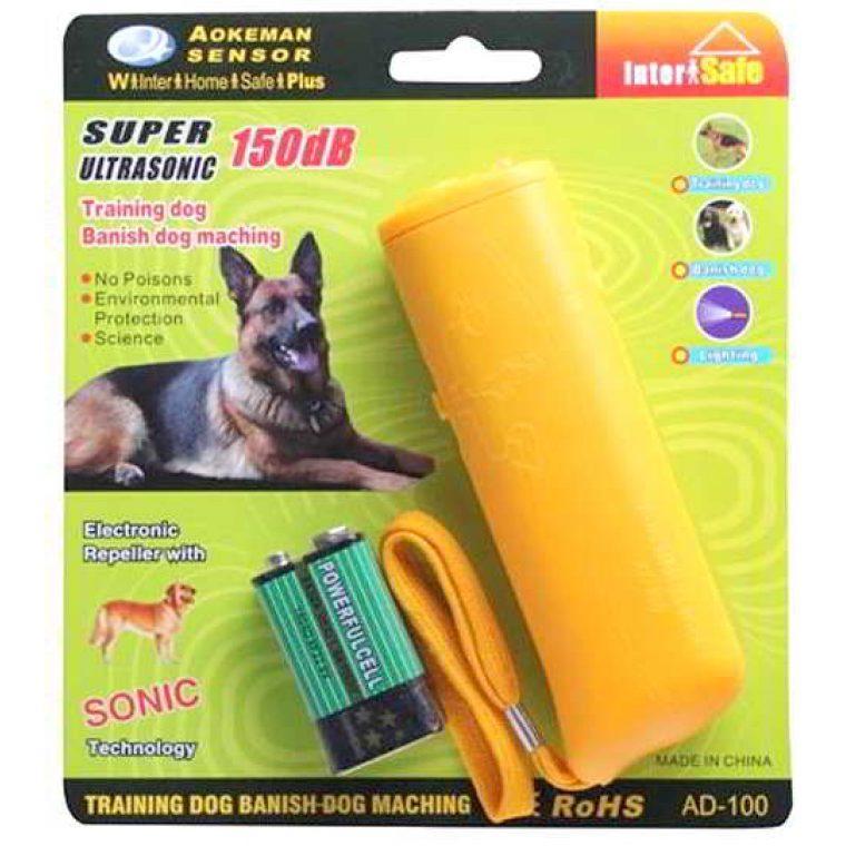 Лучший ультразвуковой отпугиватель от собак Repeller AD 100